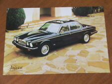 1983 Jaguar Vanden Plas 4.2 original Australian market specification brochure