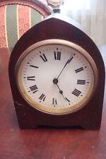 H & H France wooden case antique c1910s, clock, needs maintenance[2*]