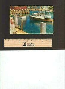 Vintage 1950's TUCO PUZZLE MINIATURES: Rockp[ort Harbor, Series #300, 75-100 pcs