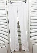 Women's Juicy Couture USA Jeans Size 27 White Denim Flare Leg