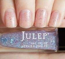 NEW! Julep nail polish vernis MELODY ~ Iridescent high gloss glitter top coat