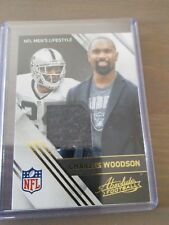 2016 Panini Absolute Charles Woodson patch card