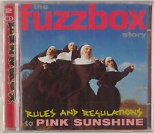 WE'VE GOT A FUZZBOX: Rules & Regulations UK Cherry Red Synth Rock NEW 2x CD