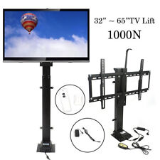 "Tv Lift Motor 1000N for 32""~65"" Tvs Height Adjustable w/ Remote Controller"