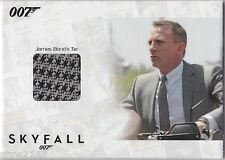JAMES BOND AUTOGRAPHS & RELICS SSC3 DANIEL CRAIG TIE RELIC 124/200