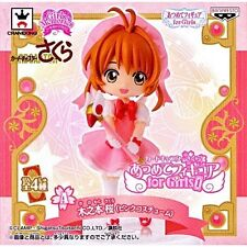 Banpresto Cardcaptor Sakura Atsumete For Girls Memories Pink Dress Wand Figure
