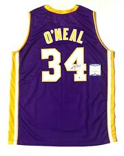 """SHAQUILLE """"SHAQ"""" O'NEAL AUTOGRAPHED SIGNED PRO STYLE """"DIESEL"""" JERSEY BECKETT COA"""