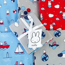 The Craft Cotton Co 1m & Fat Quarter Bundle - Miffy , Holiday