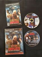 TNA Impact Toys 'R' Us Exclusive DVD Included (Sony PlayStation 2,PS2) COMPLETE