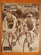 Miroir-Sprint 844 du 6/8/1962-Anquetil pour le championnat Monde-Bernard & Bogey