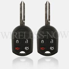 2 Car Key Fob Keyless Entry Remote 4Btn For 2005 2006 2007 Ford Freestyle