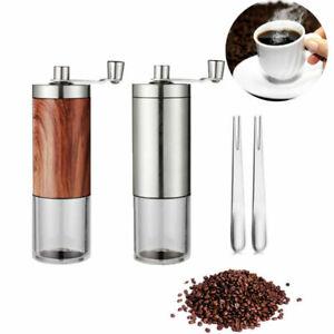 Coffee Burr Grinders Manual Coffee Grinder Hand Coffee Grinder With Adjustable