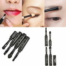 Wholesale 4 In 1 Shadow Makeup Brushes Angled Brow Brush Smudger Brush Set Lip