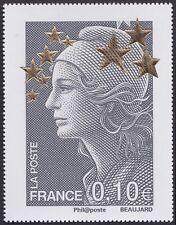 2012 FRANCE N°4662C** Maxi Marianne de l´Europe Etoiles d´Or (à 0,10€) 60x78mm
