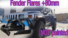 Fender Flares +80mm ffor Hummer H3 NOT painted
