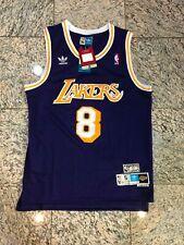 Nwt Kobe Bryant Los Angeles Lakers #8 Basketball Jersey Purple Mens MediumX4