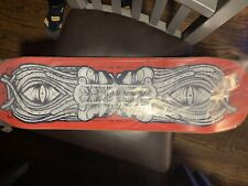 Gats Red Movement Skateboard*Signed*In Hand*Same Day Shipped*