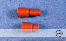 1/8 DISTRIBUTOR CAP BOOTS in BURNT ORANGE ENGINE DETAIL for TAMIYA DOYUSHA