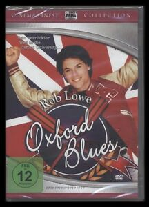 DVD OXFORD BLUES - ROB LOWE - 80er-KULT-FILM - KOMÖDIE *** NEU ***