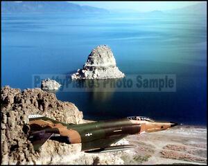 Nevada ANG RF-4C Phantom Pyramid Lake 1980 8x10 Aircraft Photos
