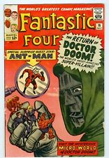 Fantastic Four #16 July 1963 VG Ant-Man Crossover