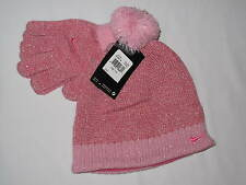 NWT NIKE GIRL 2pc hat youth size 7/16 pink