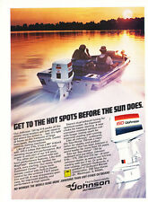 1979 Johnson 150 Boat motor - Original Advertisement Print Ad J171
