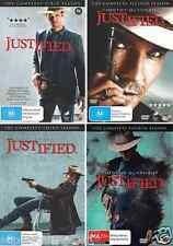 Justified Series : Season 1 - 4 : NEW DVD
