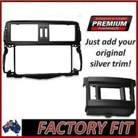 #Fascia Stereo Surround Premium ABS Plastic For Toyota Prado 150 GXL/VX Models