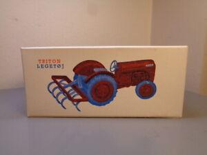 TRITON ( LEGO DENMARK ) 1950'S BOX FOR FERGUSON TRACTOR CULTIVATOR ULTRA RARE
