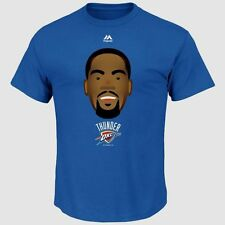 Kevin Durant Oklahoma City Thunder Emoji T-shirt Youth Medium Majestic Durantula