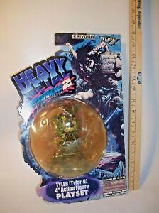 "Heavy Metal FAKK2 Tyler-B 4"" Action Figure Playset Kaiyodo Xebec Toys 99"