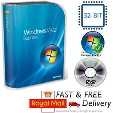 Windows Vista Home Basic 32-bit SP1 Version Complète & licence COA Clé de produit DVD