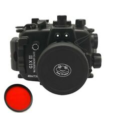 Seafrogs 40m/130ft Underwater Camera Housing Case for Canon G1X Mark III