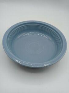 """Fiesta Fiestaware Cereal Soup Salad Bowl Med Sky Blue HLC 6 7/8"""" Retired 7"""" GUC"""