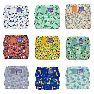 Bambino Mio Miosolo All-in-one Reusable Nappy Cloth Nappies Washable Adjustable