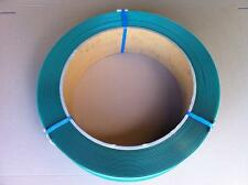 Polyester Strapping 16mm x 0.9mm Green PET Embossed