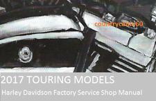 2017 Harley Touring OEM Factory Service Shop / Repair CD Manual