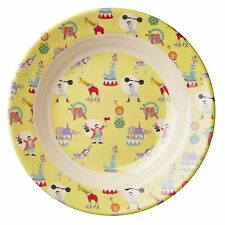 RICE Melamine - Yellow Circus Print Bowl - Combined Postage!