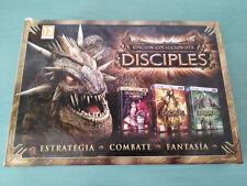 DISCIPLES EDICION COLECCIONISTA ANTHOLOGY DRAKENSANG 4 X JUEGO PC 4 X DVD-ROM