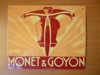 PB44F PLAQUES PUB tolée age d'or de l'Automobile n°88 23*28cm : MONET & GOYON