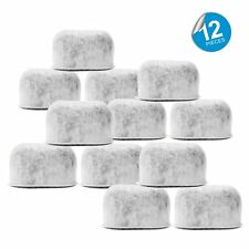 Pack of 12 Replacement Charcoal Water Filters for Cuisinart Coffee Machines NEW