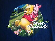Winnie the Pooh & Piglet: True Friends Cute Cartoon Walt Disney World T Shirt S