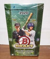 2020 Bowman Draft Baseball Super Jumbo Hobby Box New, Sealed 5 autographs a box
