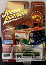 JOHNNY LIGHTNING BARN FINDS 1970 BUICK GS 455 RR TIRES RELEASE 1 GREEN