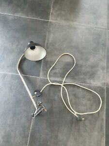 Original DDR Lampe Reif Dresden Schreibtisch  Werkstatt Industrie