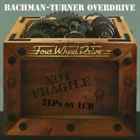 Bachman-Turner Overdrive - Not Fragile / Four Wheel Drive [CD]