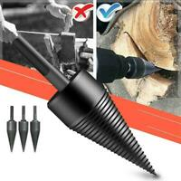 High Speed Twist Drill Bit Wood Splitter Screw Cones For Woodwork Splitting L0H1