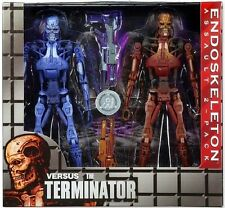 Robocop vs The Terminator 1993 Video Game Serie 2 - Endoskeleton Assault 2-Pack