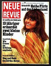 Neue Revue Nr. 24 16.6.1968 Leslie Uggams, Tina Sinatra, BMW 2500